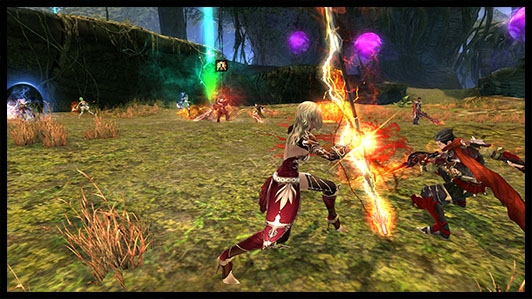 Echo of Soul - Fantasy MMORPG, Screenshot PVP